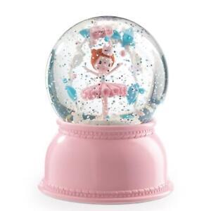 NEW Djeco Night Light Snowglobe - Ballerina - Colour changing light