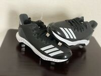 Adidas Men's Icon Bounce Low Metal Baseball Cleats - Black - CG5241 - Size 8