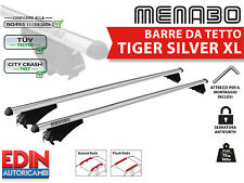 BARRE DA TETTO PORTATUTTO VW TIGUAN (5N) CROSS 14> TIGER 135 SILVER ANTIFURTO