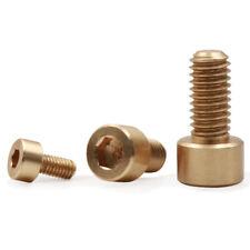10Pcs M2 M2.5 Brass Allen Screws Socket Cap Head Screw Hexagon Bolts 4mm-16mm