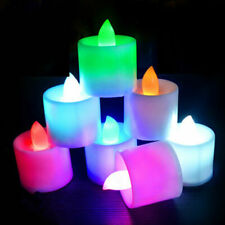 24pcs Color Change Small Flickering LED Smokeless Candle Light party