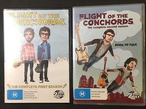 FLIGHT OF THE CONCHORDS - COMPLETE SERIES DVD - SEASONS 1 & 2 - REGION 4 - NEW