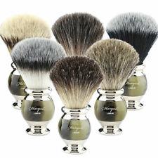 Professional Barber Salon Men's Grooming Shaving Brushes with Best Badger Hairs