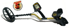 "Fisher F75 Metal Detector with waterproof 11"" DD coil for coins relics jewelry"