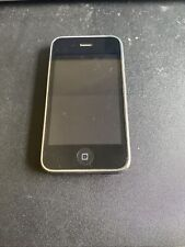 Apple iPhone 3G - 8GB - Black (AT&T) MB702ll Works But Selling As Parts Phone