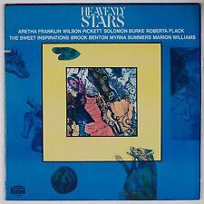 HEAVENLY STARS: Aretha Franklin, Wilson Pickett '71 GOSPEL SOUL COTILLION LP