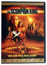 The Scorpion King (DVD 2002) Dwayne 'The Rock' Johnson, Kelly Hu, Michael Duncan