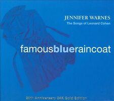 Jennifer Warnes- Famous Blue Raincoat  20th Anniversary 24K Gold  CD Brand New