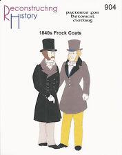 Schnittmuster RH 904: 1840s Frock Coat