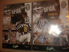 OPERA COMPLETA IN 2 DVD LE GRANDI SFIDE FC JUVENTUS VS MILAN INTER BIG MATCH