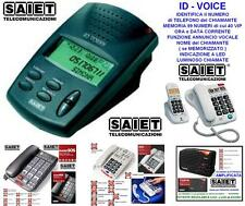 Saiet Identifiers Del Number Caller Id-Voice with Functions of Alert Voice
