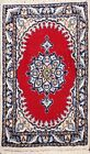 Vintage Traditional Floral Oriental Area Rug Wool Hand-knotted 1x2 Foyer Carpet