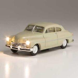 Woodland Scenics # 5592 City Classic - Just Plug(R) Lighted Vehicle Ivory HO MIB