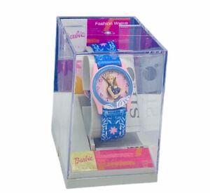Barbie Doll Avenue watch vtg pink wristwatch NIB box sealed case SII mattel Ken