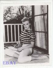 Anne Francis sexy barefoot 1956 VINTAGE Photo