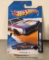 '70 Ford Torino #178 * Blue * 2012 Hot Wheels * F25