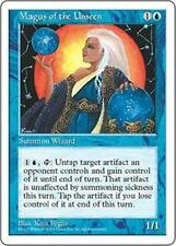 MAGUS OF THE UNSEEN Fifth Edition MTG Blue Creature — Human Wizard RARE