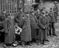 WW2 Photo WWII Young German Prisoners of War   World War Two Wehrmacht / 2482