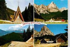 72733176 Kaiserau_Admont Bergkapelle mit Stiftstaverne Zur Nagelschmiede Schloss