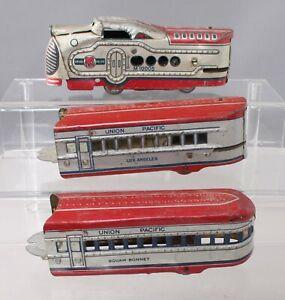 Marx 10005 Vintage O UP Streamliner Lithographed Electric Set