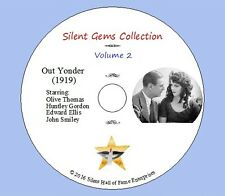 """DVD """"Out Yonder"""" (1919) starring Olive Thomas with Huntley Gordon, Classic Drama"""