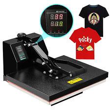 "16"" x 20"" Digital Clamshell Heat Press Transfer  T-shirt Sublimation Machine"