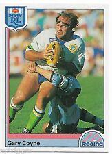 1992 NSW Rugby League REGINA Base Card (145) Gary COYNE Canberra Raiders