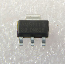 50PCS AMS1117-3.3 AMS1117 LM1117 3.3V 1A SOT-223 Voltage Regulator IC NEW