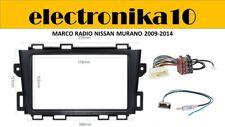 Soporte Marco radio 2din embellecedor Nissan Murano 2009 2014  iso y antena