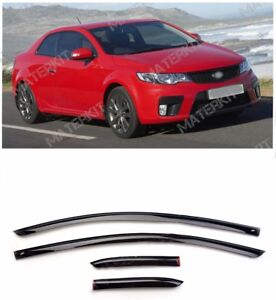 For Kia Cerato Koup | 2009-2012 | Deflectors Windows Visors Rain Sun Vent Guard