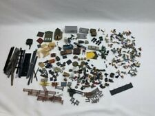 HO scenery lot- People-Yard items- Fork Lift- Tools- Metal and Plastic