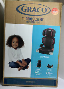 NEW Highback TurboBooster Kids Toddler Car Seat with Washable Cover, Lulu