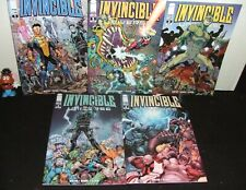 INVINCIBLE UNIVERSE 5 ISSUE COMIC RUN/LOT #1-5 IMAGE 2013 CHARACTER SHOWCASE NM-