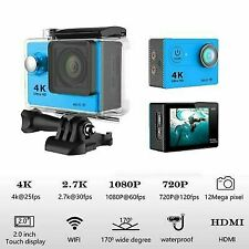 Full HD Action Wifi Camera Sport Camcorder DVR Helmet Remote Go Pro Waterproof*