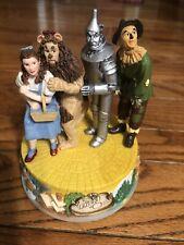 San Francisco Music Box Company Wizard Of Oz Four Figure Musical Figurine