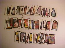 Wacky Packages Complete 48 Sticker Card Base Set, 1992 O-Pee-Chee, EX-NM