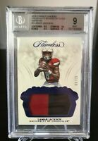 2018 LAMAR JACKSON PANINI FLAWLESS ROOKIE PATCH SAPPHIRE #/15 - BGS 9 MINT