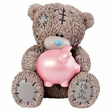 Me to You Money Box Holding Pig - Tatty Teddy Bear Piggy Bank