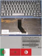 CLAVIER QWERTY ARABE Packard Bell EasyNote MZ35 MZ36 AEPL1KEQ119-AR 7710121 Noir