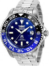 Invicta Men's Pro Diver Automatic 300m Stainless Steel Blue Dial Watch 21865