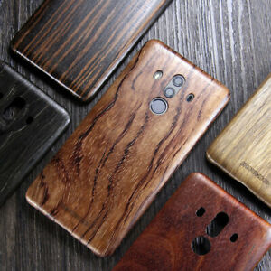Echt Holz Kugelsicher Aramidkern Backcover Wood Case Hartschale Hülle für HUAWEI