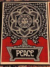 Shepard Fairey Signed 2007 Peace Tree **33/300**
