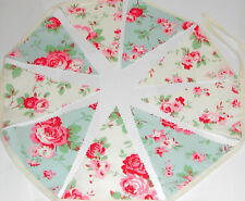 Cath Kidston Bunting Beautiful Vintage Rose 8ft.6in. PARTY HOME GARDEN  KikiB