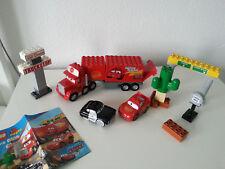 Lego Duplo Cars 5816 Mack auf großer Fahrt Sheriff Lightning McQueenTruck Stop