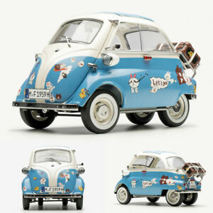 NSL 1:12 Scale BMW Isetta 300 1956 Limited Alloy Diecast Car Model Openable