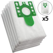 5 x U Type Hyclean Vacuum Cleaner Bags For MIELE Hoover Dust Bag S7260 + Filters