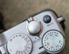 Pro Quality Shutter Button Soft Release Metal Convex Silver Fuji XT3 XE2 X-Pro1