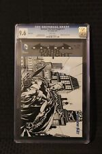 Batman: The Dark Knight #11 CGC 9.6 Sketch Variant - DC Comics 2012