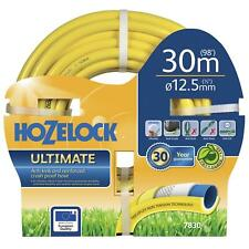 Hozelock 30m Ultimate Ultralite Garden Hose Pipe - Flexible Anti-Kink Anti-Crush