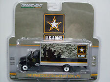 "International Durastar Box Van ""Armée américaine"",Greenlight 1:64"
